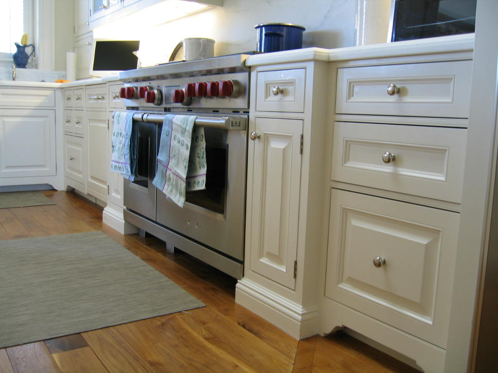 White Custom Kitchen Cabinetry Pacific Heights San Francisco