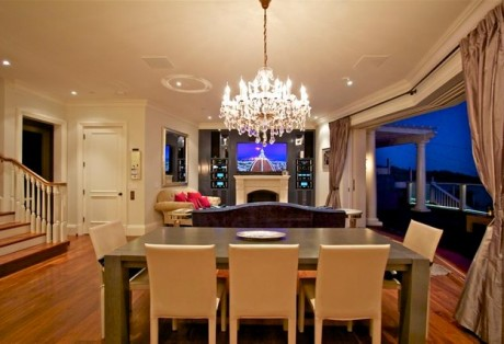 Media Wall, entertainment wall tiburon custom cabinetry