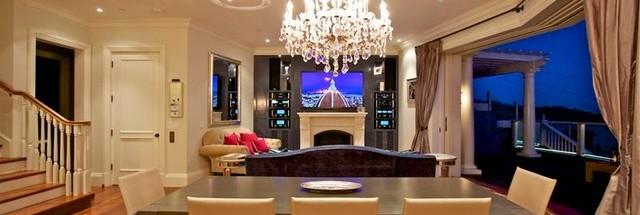Media Wall, entertainment wall tiburon custom cabinetry