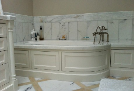 custom curved panel bath cabinetry pacific heights ca