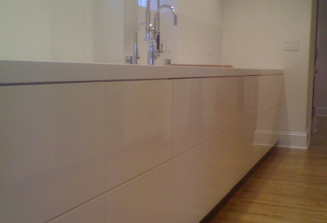 High Gloss Custom Cabinetry San Francisco Bay Area