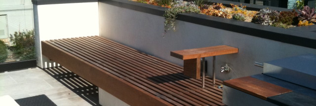 custom ipe bench san Francisco
