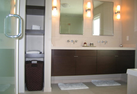 custom bath vanity tiburon California